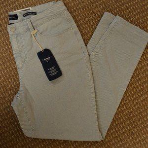Bristol Skinny Ankle Jeans - Striped